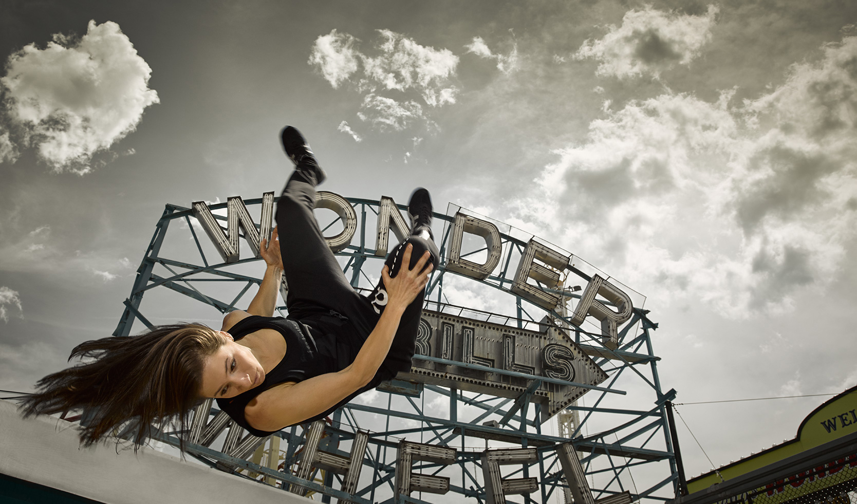 Grace Parkour Photoshoot