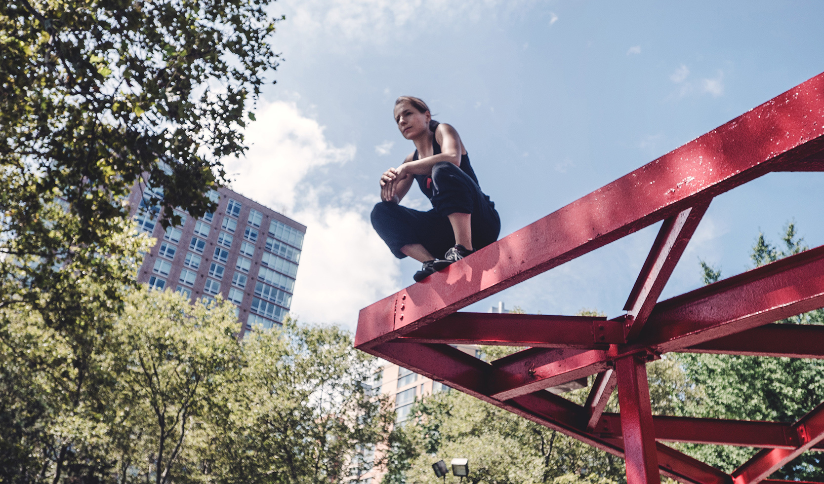 Grace Parkour Photoshoot - credit: Steve Zavitz
